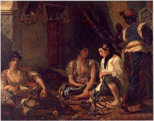 Алжирские женщины. 1834
