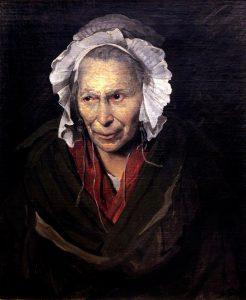 Портрет сумасшедшей. 1822 Лувр