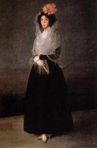 Франсиско Гойя. Портрет маркизы де ла Солана. 1794-1795. Лувр, Париж